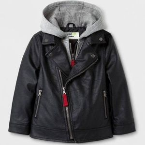 Toddler boys' OshKosh Moto Jacket with zipper
